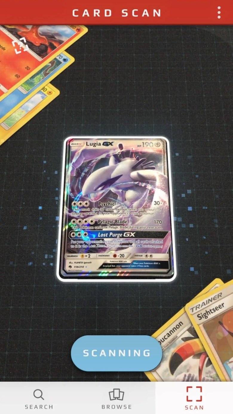 Pokémon TCG Card Dex Screenshot 3