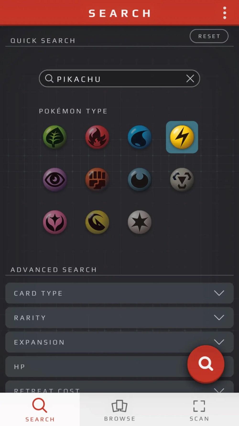 Pokémon TCG Card Dex Screenshot 5