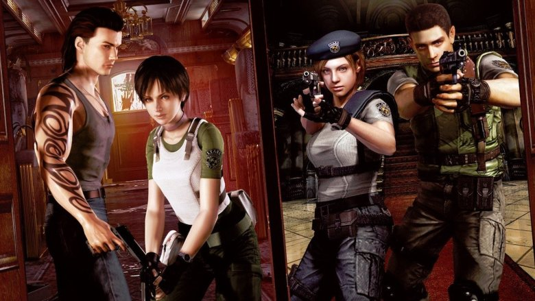 Resident Evil Origins Collection Key Art