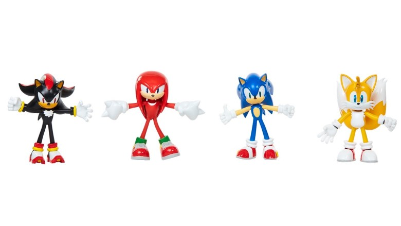 Sonic the Hedgehog Toy Figures Photo