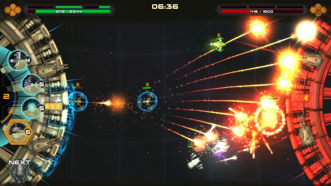 Space War Arena Update Adds One-On-One Online Multiplayer
