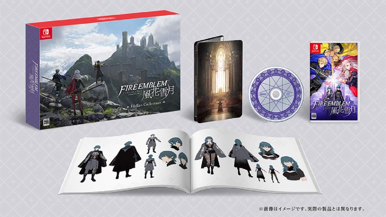 Fire Emblem: Three Houses Fódlan Collection Image