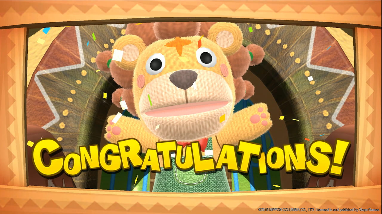 FUN! FUN! Animal Park Congratulations Screenshot