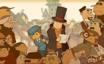 Professor Layton And The Curious Village Key Art
