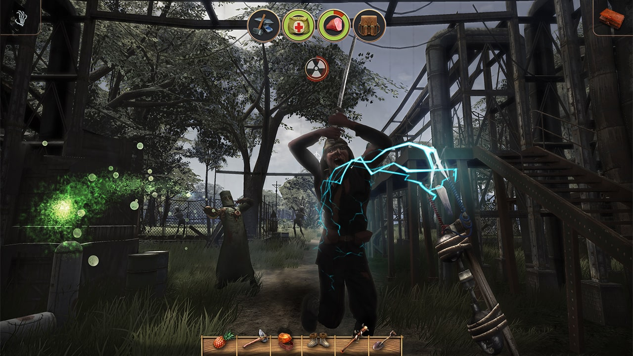 Radiation Island Review Screenshot 2