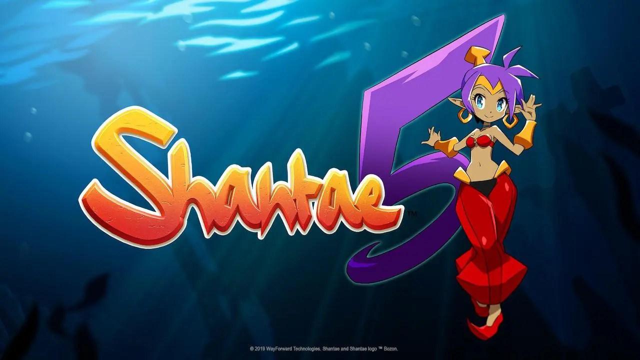 Shantae 5 Logo