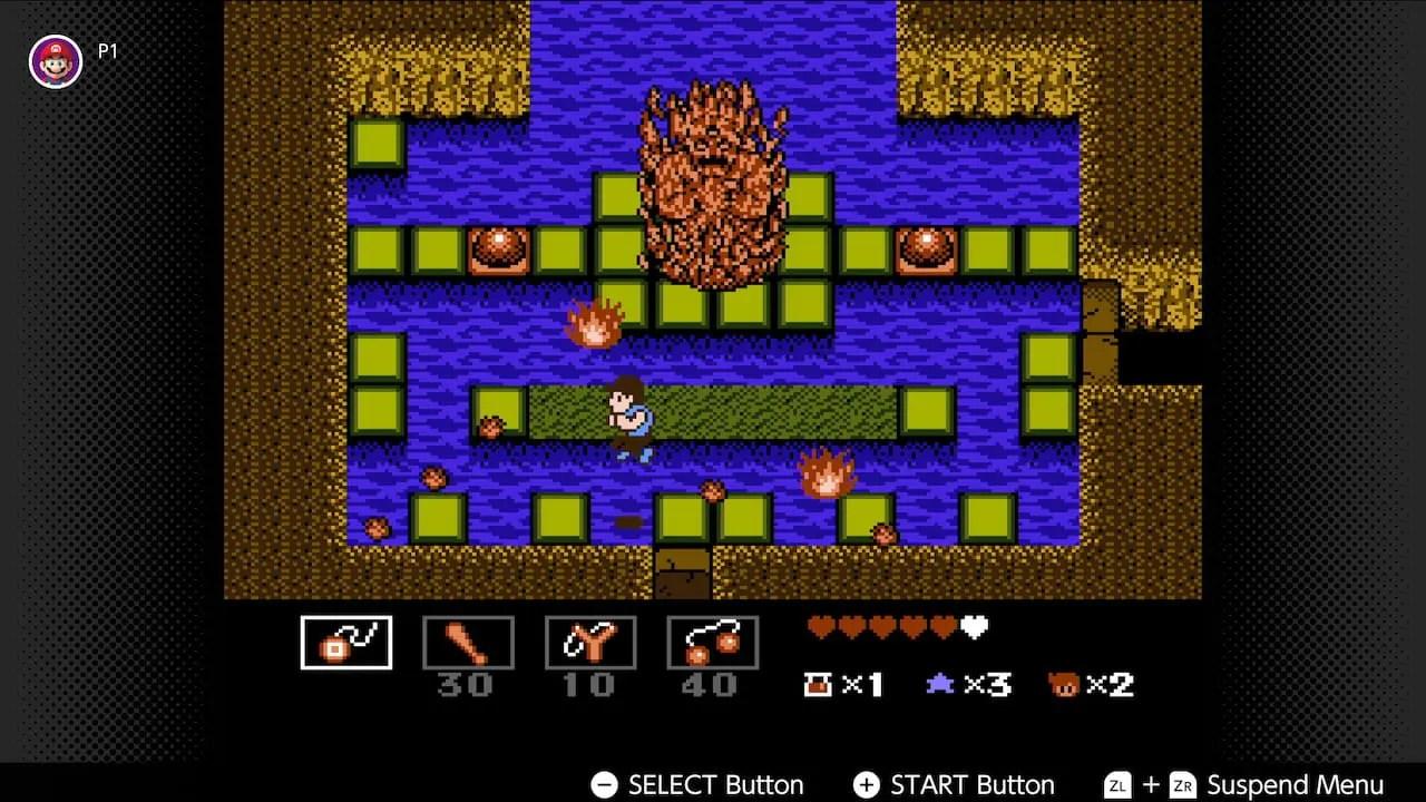StarTropics Nintendo Switch Online Screenshot