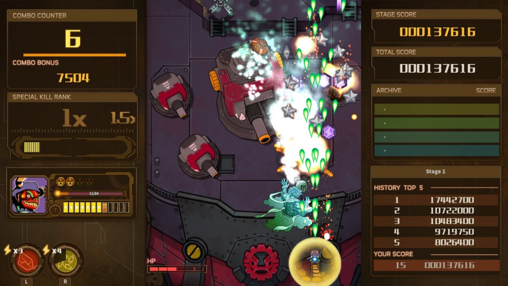 AngerForce: Reloaded Review Screenshot 2