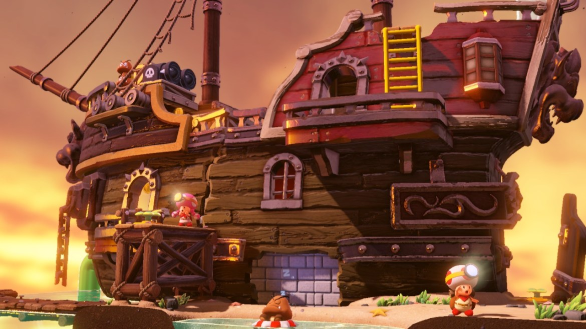 Captain Toad: Treasure Tracker Coop Screenshot 2