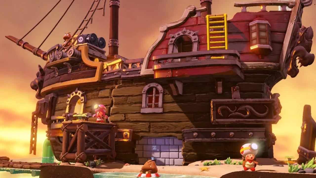 Captain Toad: Treasure Tracker Coop Screenshot 2