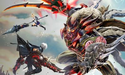 God Eater 3 Key Art
