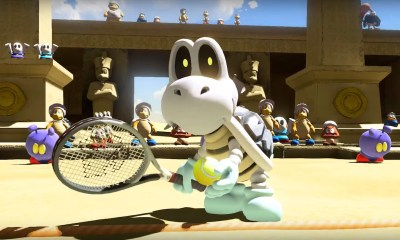 Mario Tennis Aces Dry Bones Screenshot