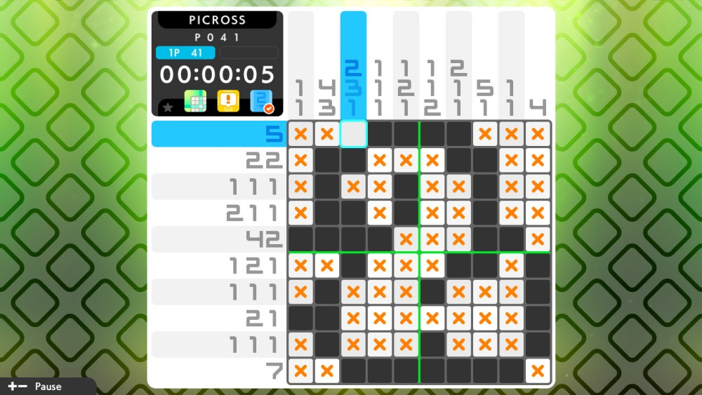 Picross S3 Review Screenshot 1