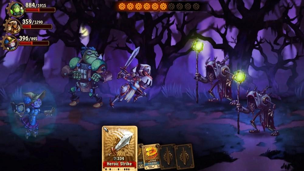SteamWorld Quest Review Screenshot 1