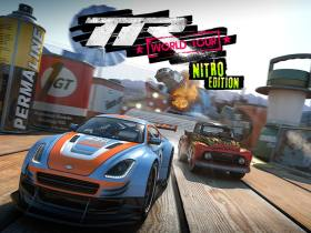 Table Top Racing: World Tour - Nitro Edition Key Art