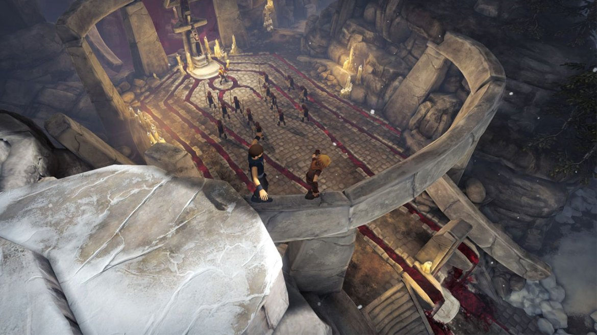 Brothers: A Tale of Two Sons Switch Screenshot 4