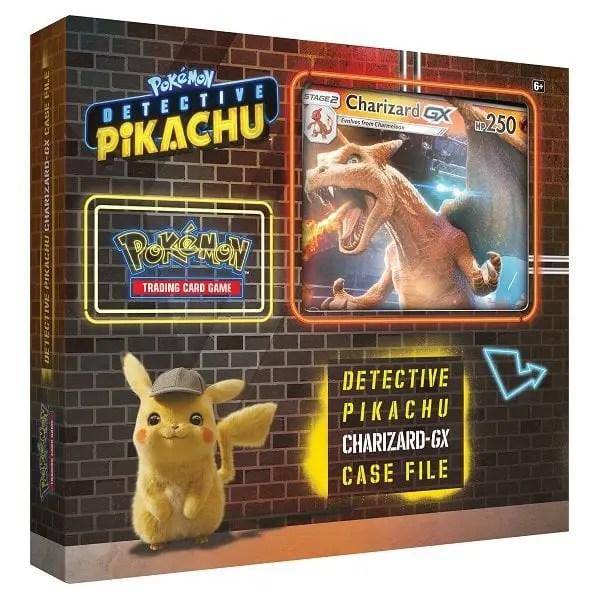Detective Pikachu Charizard-GX Case File Photo