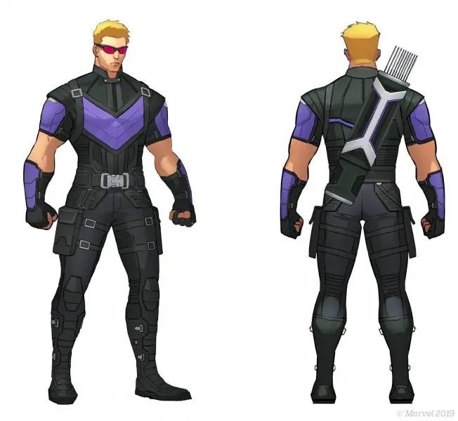 Hawkeye Marvel Ultimate Alliance 3: The Black Order Artwork