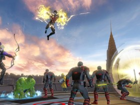 Hawkeye Marvel Ultimate Alliance 3: The Black Order Screenshot