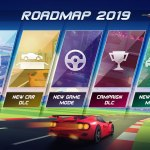 Horizon Chase Turbo Roadmap Screenshot