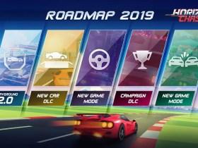 Horizon Chase Turbo Roadmap Screenshot