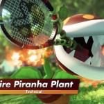 Mario Tennis Aces Fire Piranha Plant Screenshot