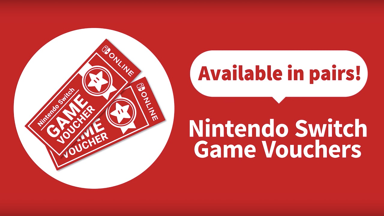 Nintendo Switch Game Vouchers Image