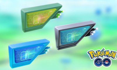 Pokémon GO Glacial, Mossy And Magnetic Lure Modules Image