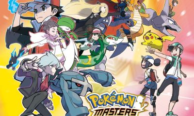 Pokémon Masters Key Art