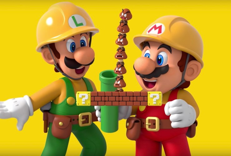 Super Mario Maker 2 Preview Header