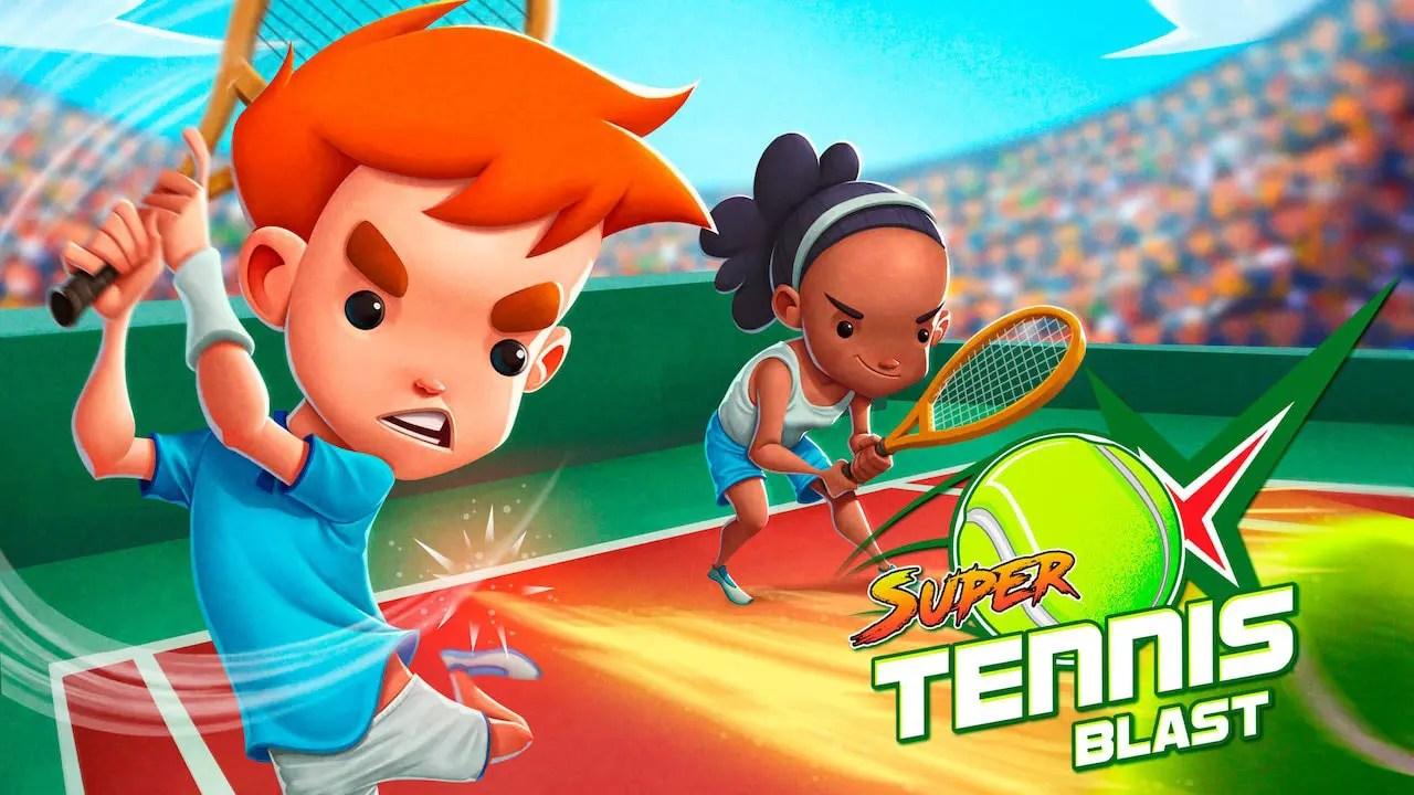 Super Tennis Blast Artwork