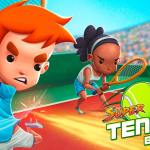 Super Tennis Blast Artwork