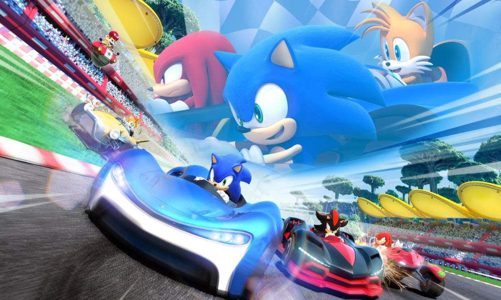 Team Sonic Racing Review Header