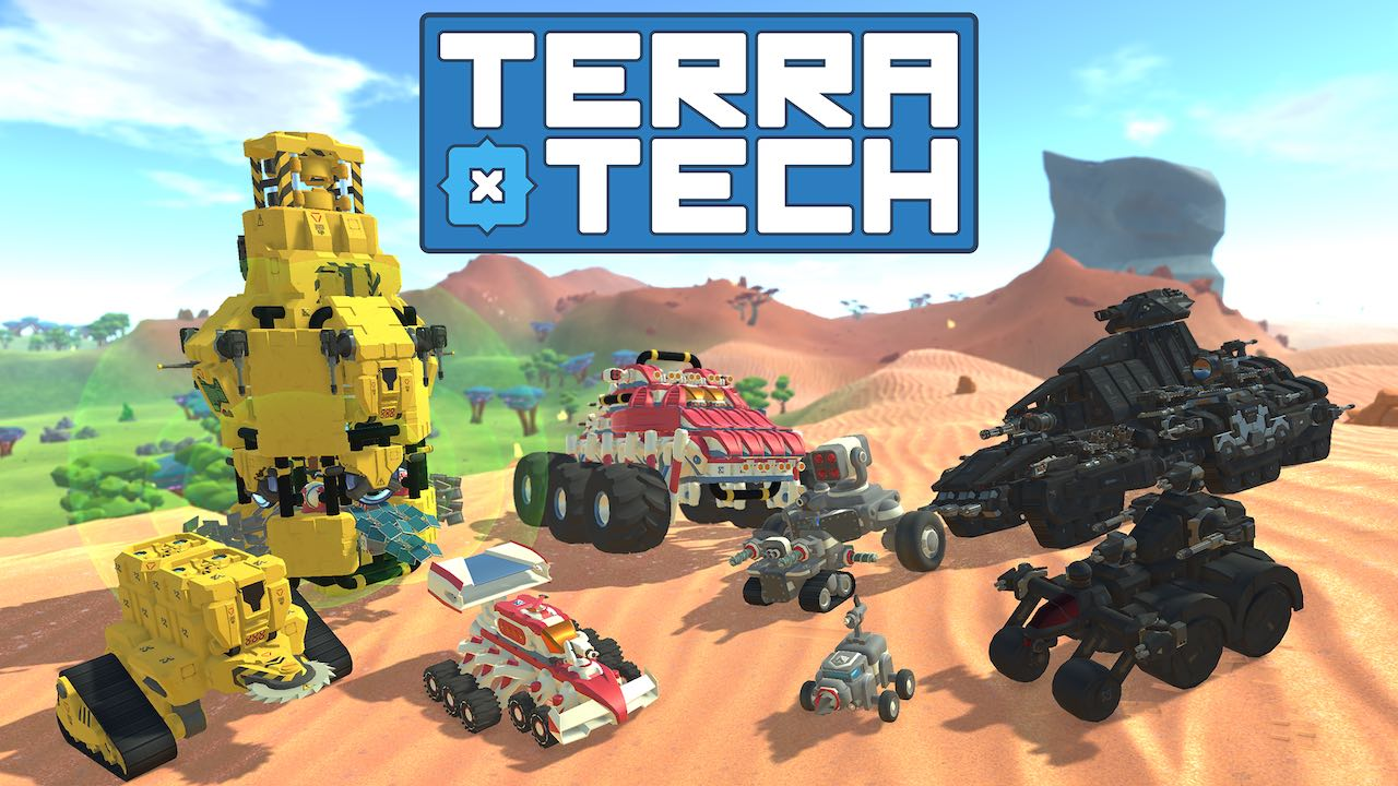 Construct Your Own Vehicles In TerraTech On Nintendo Switch