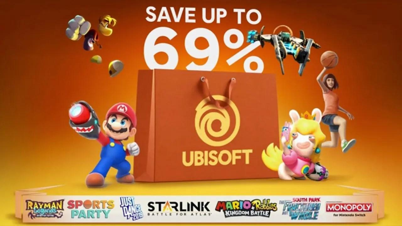 Ubisoft Nintendo eShop Sale Discounts 16 Switch Games