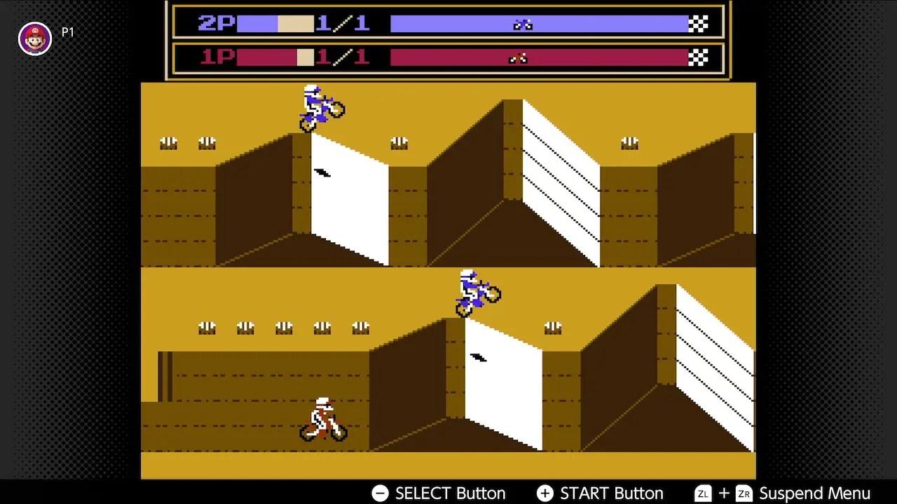 Vs. Excitebike Nintendo Switch Online Screenshot