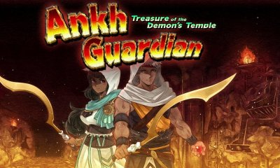 Ankh Guardian: Treasure Of The Demon's Temple Logo