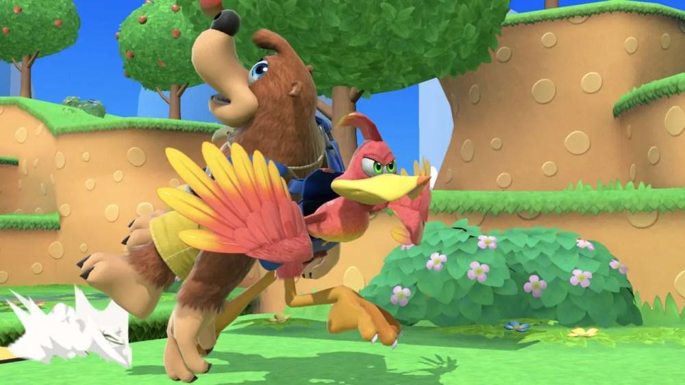 Banjo And Kazooie Super Smash Bros. Ultimate Screenshot 5