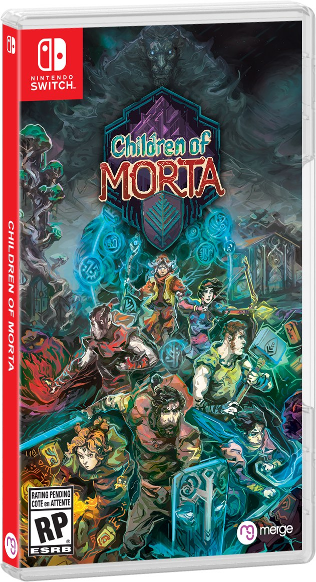 Children Of Morta Switch Box Art