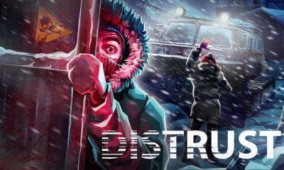 Distrust Key Art