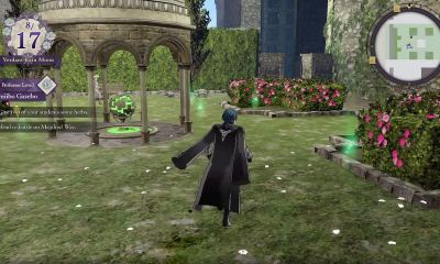 Fire Emblem: Three Houses amiibo Gazebo Screenshot