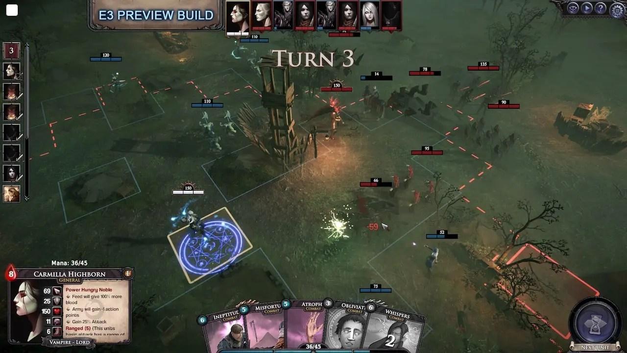 Immortal Realms: Vampire Wars E3 2019 Screenshot