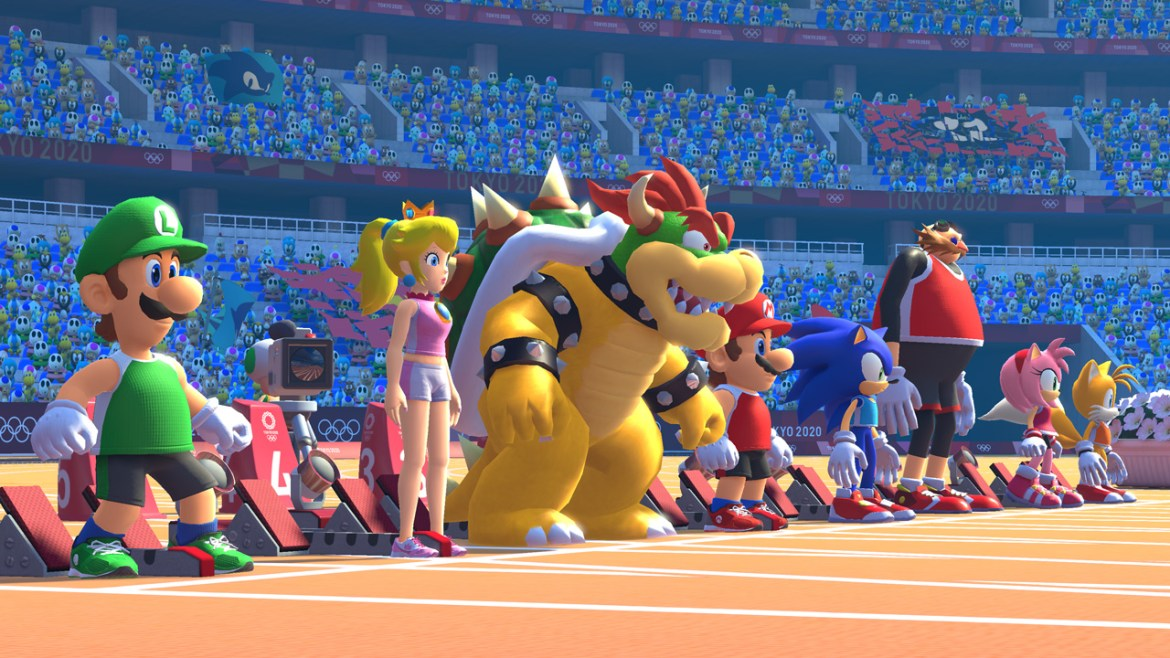 Mario and Sonic at the Olympic Games Tokyo 2020 E3 2019 Screenshot 1