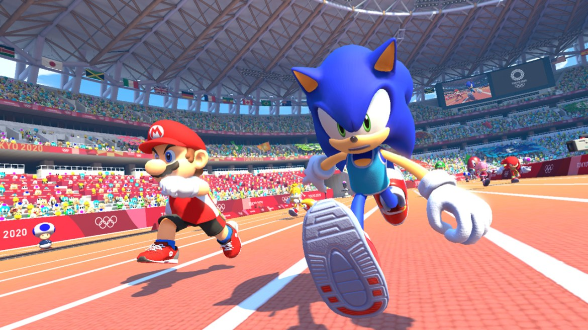 Mario and Sonic at the Olympic Games Tokyo 2020 E3 2019 Screenshot 2