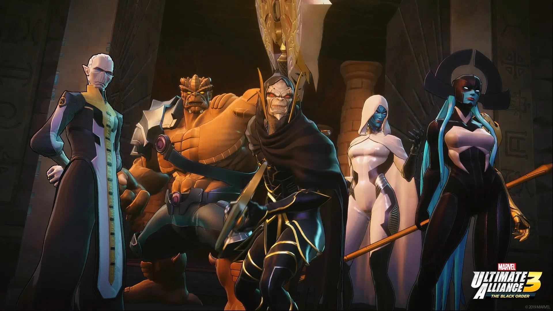 Marvel Ultimate Alliance 3: The Black Order E3 2019 Screenshot 1