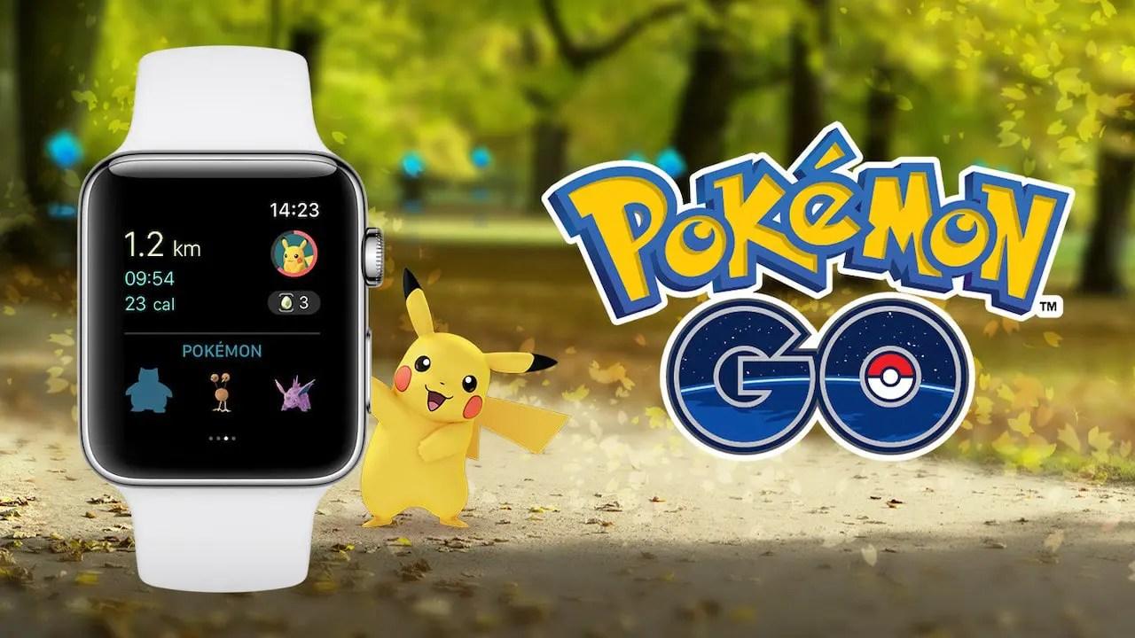 Pokémon GO Apple Watch Image