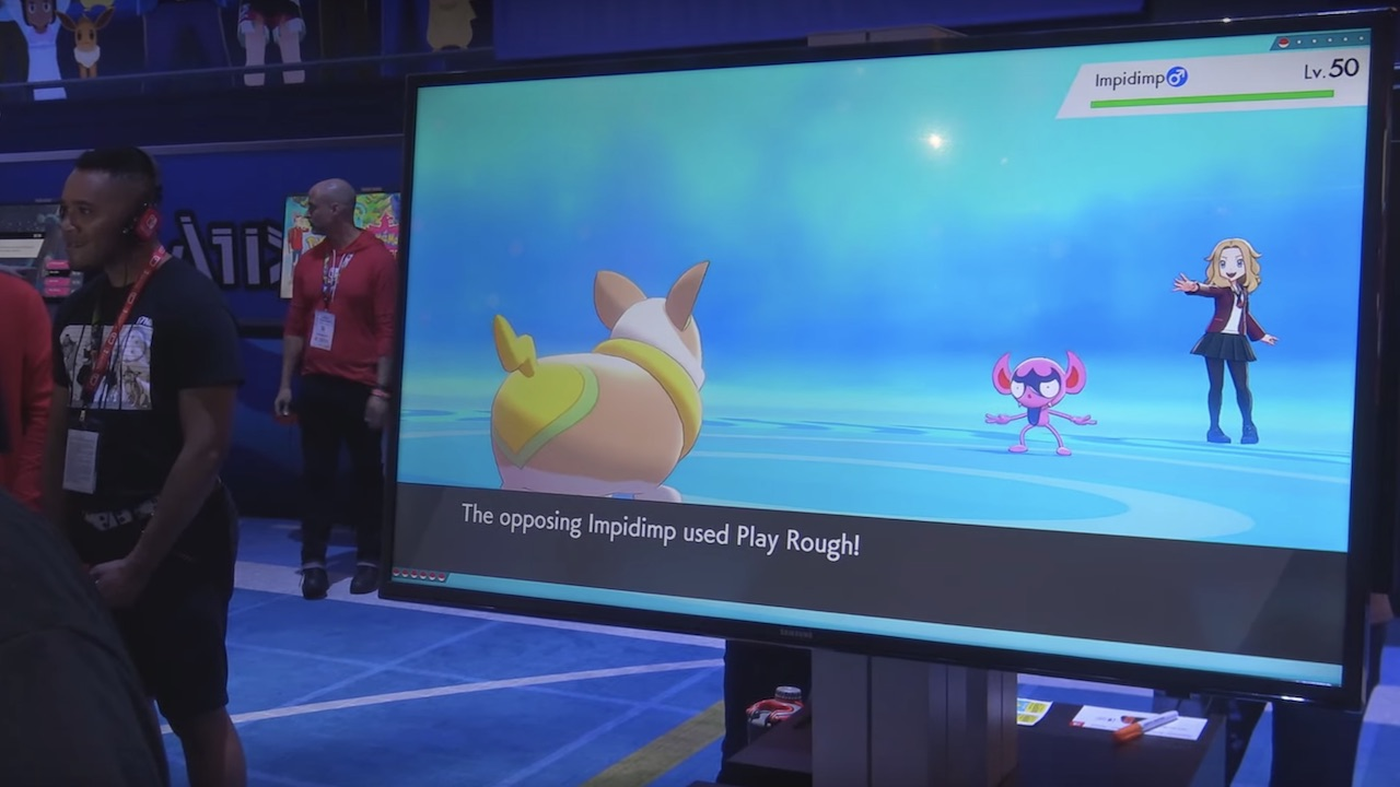 Yamper And Impidimp Revealed In Pokemon Sword And Shield E3 2019