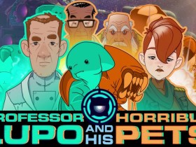 Professor Lupo And His Horrible Pets Logo