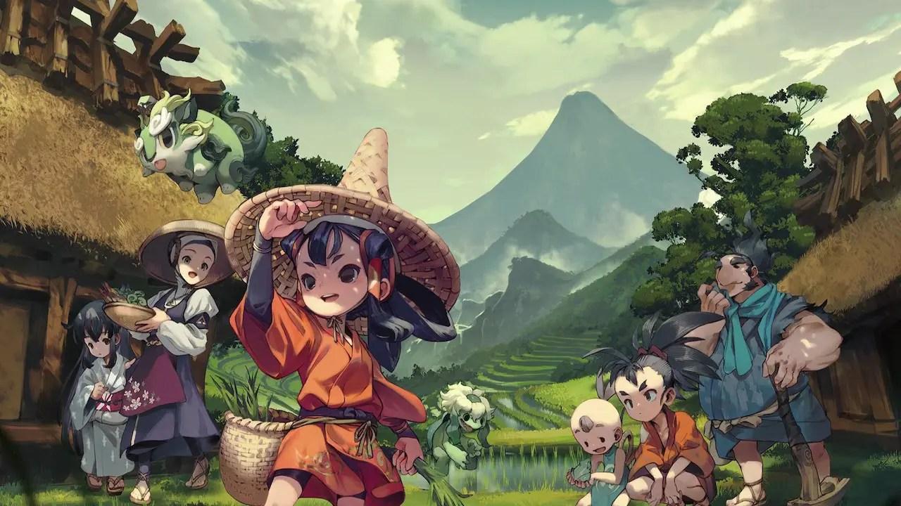 Sakuna: Of Rice And Ruin E3 2019 Key Art