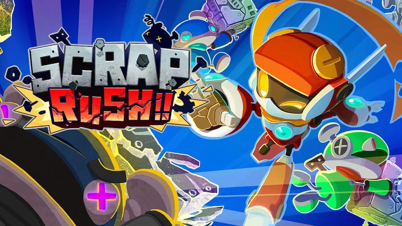 Scrap Rush!! Key Art